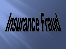 "What is ""Fraud""? - Insurance Federation of Minnesota"