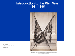 Introduction Civil War Power Point