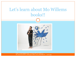 Mo Willems PowerPoint