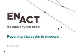 My title - Energy Action Ireland