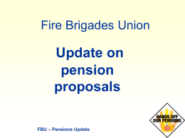 Latest Pension Power Point Presentation