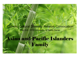 Asian Pacific Islander Family