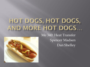 Hot dogs* and more hot dogs*