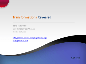 Transformations-Revealed - DevNet