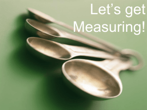 Let`s Get Measuring PowerPoint measurements