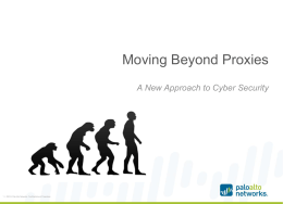 Moving Beyond Proxies presentation