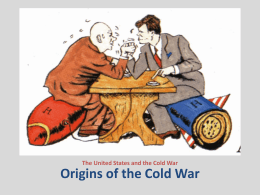 Cold War Begins