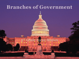 Branches of Government -