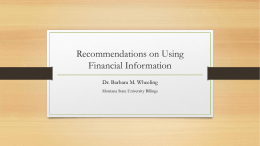 Recommendations-on-Using-Financial