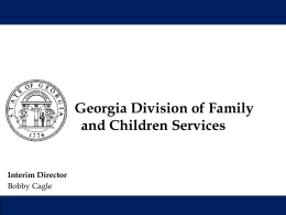 DFCS Overview of CPS Referral Process (PowerPoint presentation)