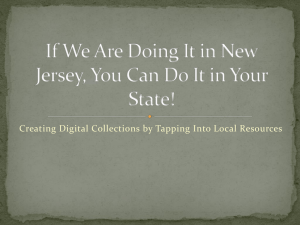 If We Are Doing It in New Jersey, You Can Do It in Your State!