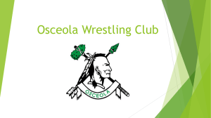 Osceola Wrestling Club Power Point