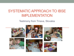 ZOLDOZOVA - Systemic approach to IBSE implementation