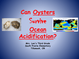 Oyster Acidification PPT