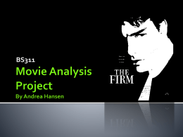 Movie Analysis Project By Andrea Hansen