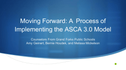 2014 Implementing the 3.0 Model