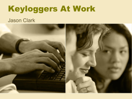 Keyloggers At Work