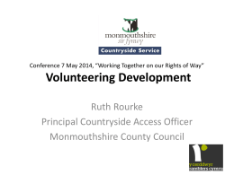 Volunteering Development