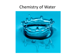 Water the Universal Solvent