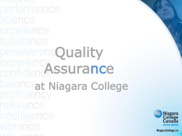 Program Quality Assurance Process Audit (PQAPA)