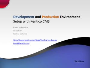 Development-and-Production-Environment-Setup-with
