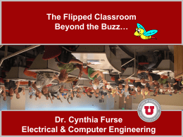 The Flipped Classroom Beyond the Buzz