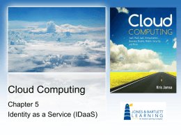 Cloud Computing Chap..