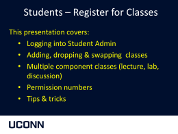 How to Register - University of Connecticut