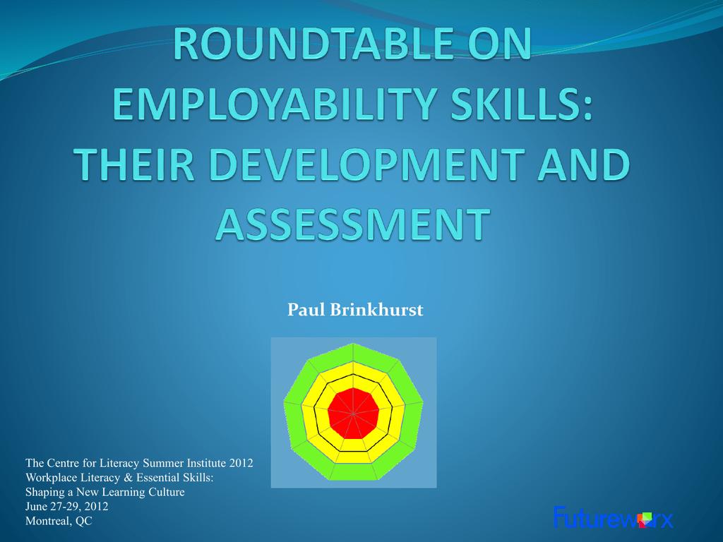 employability skills assessment tool esat