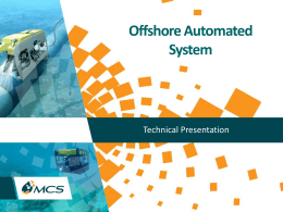 Offshore Automated System