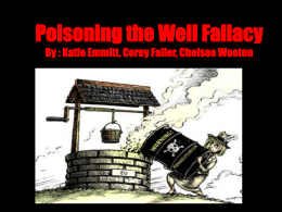 poisoning the well fallacy katie emmitt