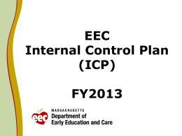 EEC Internal Control Plan