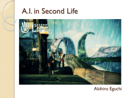A.I. in Second Life