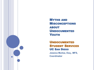 Myths and Misconceptions about Undocumented
