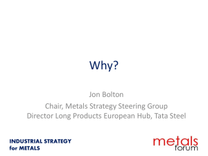 Jon Bolton - Metals Forum