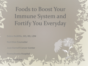 Foods to Boost Your Immune System and Fortify You Everyday