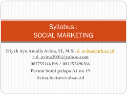 syllabus social marketing