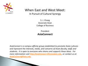 When East and West Meet - AsiaConnect | Illinois State