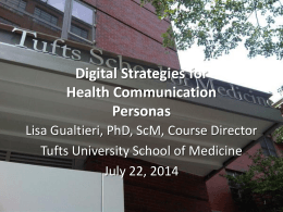 Slide - Home | Tufts University School of Medicine Public Health