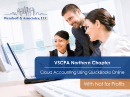 NPOs - Wendroff CPA