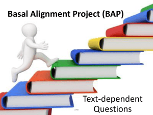 intro to basal alignment powerpoint