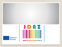 JDAZ * Joint Degrees from