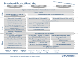 BB roadmap and MSE