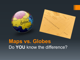 Maps vs Globes Powerpoint 1A