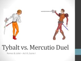 Character essay on mercutio