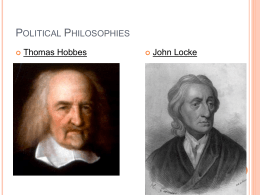 Classical Republicanism vs. Natural Rights Philosophy
