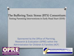 The Buffering Toxic Stress (BTS) Consortium