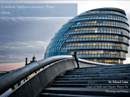 Infrastructure Investment Plan for London