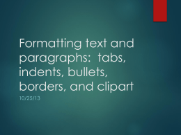 Formatting Text 2 ppt