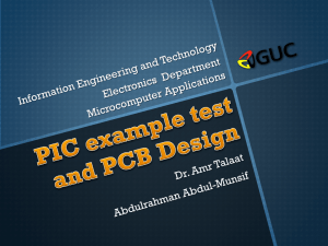 PCB Design Introduction - GUC - Faculty of Information Engineering